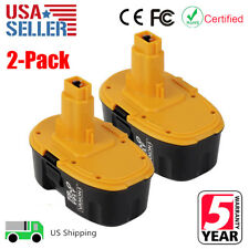 2 x 18V XRP Battery For DEWALT DC9096-2 DE9039 DE9095 DW9095 DW9098 Battery Pack
