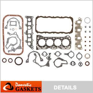 Fits Suzuki Sidekick Samurai Swift 1.3L Full Gasket Set G13A