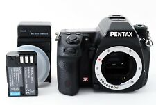 PENTAX K-5 Digital SLR Camera Body - Black from Japan [Exc+++]