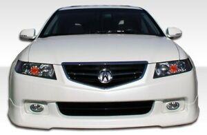 04-05 Acura TSX J-Spec Duraflex Front Bumper Lip Body Kit!!! 105223