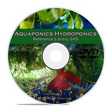Soilless Gardening, Hydroponics, Fish Culture, Aquaponics, 75 Books on CD V66