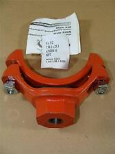 """NEW Victaulic 4"""" X 1/2"""" NPT 920N Series Mechanical Pipe Tee Bolted Branch Outlet"""