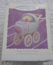 "Collectible Hallmark Keepsake Ornament.""Baby' s First Easter"" 1995~Nib"
