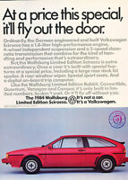 1978 Volkswagen VW Scirocco Track Classic Vintage Advertisement Ad A65-B