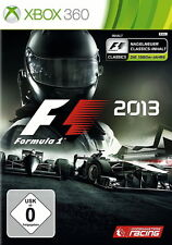 XBOX 360 GAME: F1 2013 (Microsoft Xbox 360, 2013, DVD-Box)