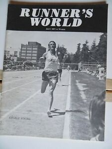 1971 Runner's World Jul George Young Mejia Percy Cerutty Track Running Athletics
