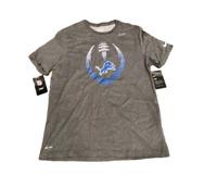 NWT New Detroit Lions Nike Dri-Fit Cotton Football Icon Large T-Shirt