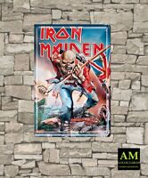 Kkl - Iron Maiden - Sign - The Trooper - Wall - Door New/Original Packaging