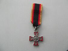 *(A14-306) BW Ehrenkreuz für eine besondere Einzeltat silber  Miniatur