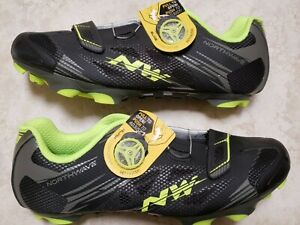 Northwave mens Scorpius 2 Plus road biking cycling shoes 42 clipless
