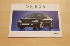 76225) Opel Omega B - Edition Sport II - Prospekt 08/1998