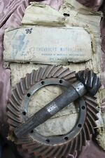 VTG NOS OEM GM Ring & Pinion Gear Set  368351-9 1932 Chevrolet Ratio 39.9  (88)