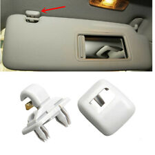 Vehicle Interior Gray Sun Visor Clip Fit Audi A3 04-16 A4 S4 A5 Q3 Q5 09-16 TT