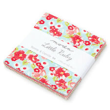"""LITTLE RUBY 42 Pc 5"""" Charm Pack Quilt Moda Fabric by Bonnie & Camille"""