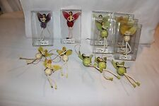Lot 13 Sweetheart Fairies Christmas Ornaments Lemon Drop Apple Betty Royal Int.
