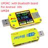 UM34C UM34 USB 3.0 Color Display LCD Tester Voltage Current Capacity Meter