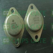 4PCS 3-TERMINAL ADJUSTABLE REGULATORS IC NSC/ST TO-3 LM337K LM337K-STEEL