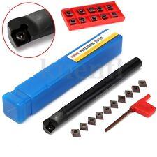 10PZ CCMT09T3 INSERTI S16Q-SCLCR09 UTENSILI DA TORNIO Turning Tool Holder 16mm