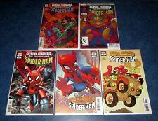 PETER PORKER the SPECTACULAR SPIDER-HAM #1 2 3 4 5 set variant SPIDER-VERSE