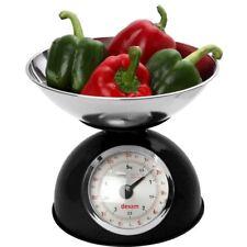 Dexam Design Rétro Traditionnel Mécanique Balance de Cuisine Noir 5kg 5kg Neuf