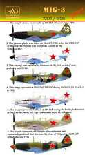 Hungarian Aero Decals 1/72 Russian MIKOYAN MiG-3 WWII Fighter Part 3