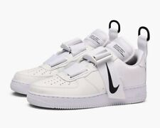 Nike Air Force 1 Utility White Trainers UK 11.5 **Brand New In Box**
