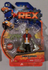 GeneRAtor X SMACKHANDS REX 4'' Action Figure moc NEW