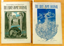 2 LADIES HOME JOURNAL Magazines 1900 May July KIPLING STORIES H.Christy