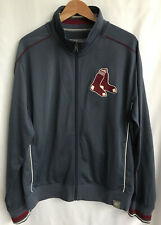 NIKE RED SOX Genuine merchandise BASEBALL Track Jacket Gray Red Size XL