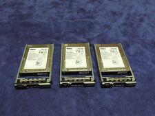 "Lot Of 3 Dell Poweredge R910 R710 R610 2.5"" 300Gb Sas Server Hard Drives T871K"