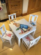 Childrens Peter Rabbit Table & Chair Set
