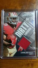 2014 Panini Prizm Dirty Laundry Prizms #DL-CH Carlos Hyde San Francisco 49ers
