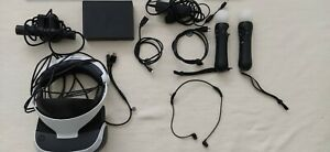 PS4 VR HEADSET+CAMERA+MOVE CONTROLLERS