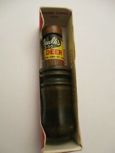 Faulks D-50 Deer Call Game 1954 1955 Hand Original Box With Instructions NEW!