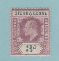Sierra Leone 82 Mint Hinged OG * - No Faults Very Fine!