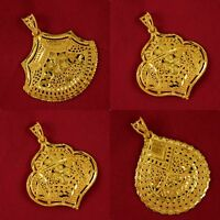 Indian 18k Traditional Pendant Bollywood Goldplated Necklace Pendant Jewelry