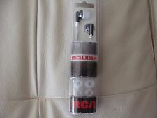 """RCA HP 61 """"SQUISH"""" Stereo Ear Buds - Cool Colors - Brand New!"""