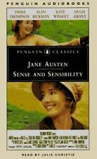 """SENSE and SENSIBILITY ""by Jane Austen  4 Audio Cassettes 6 Hours AUDIOBOOKS NEW"