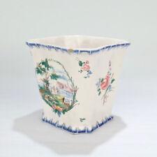 Antique Sceaux Penthievre French Faience Jardiniere - Planter Cachepot Vase PT
