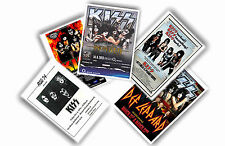 KISS - SET OF 5 A4 POSTERS # 1