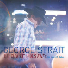 George Strait : The Cowboy Rides Away: Live from AT&T Stadium CD (2014)
