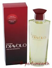 DIAVOLO FOR MEN 6.7/6.8 OZ EDT SPRAY BY ANTONIO BANDERAS & NEW IN A BOX