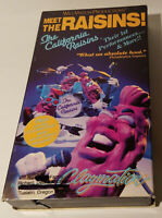 The California Raisins - Meet the Raisins (VHS, 1989) Will Vinton Productions