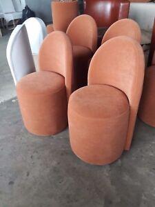 Ottoman, pouffe, mini armchair for restaurant and home