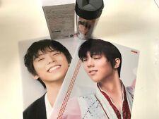 Yuzuru Hanyu Original Tumbler & Clear file 2pcs Set limited item Mag Japan New