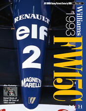 RACING PICTORIAL SERIES by HIRO N° 40: WILLIAMS FW15C 1993 - LIVRE NEUF