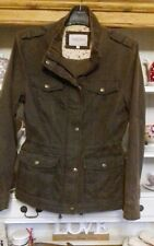 M&S MARKS & SPENCER Indigo Jacket  Size 10 Chocolate Brown Colour Super!