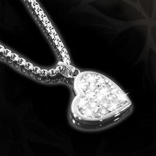 S.OLIVER Kette Halskette Collier Herz Swarovski Kristalle Damen Heart 9078929