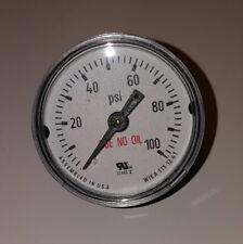 "WIKA Pressure Gauge 111.12 1.5"" 100 PSI 1/8"" NPT CBM # 4209383 NEW OLD STOCK"