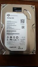 "Seagate Barracuda 1TB,Internal,7200RPM,3.5"" (ST1000DM003) HDD"